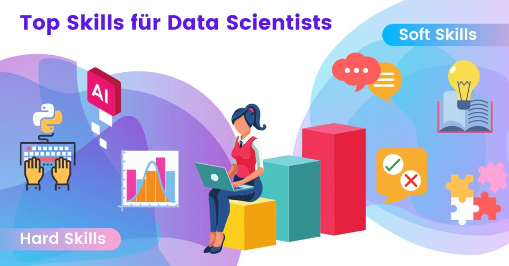 Data scientist hard skills and soft skills